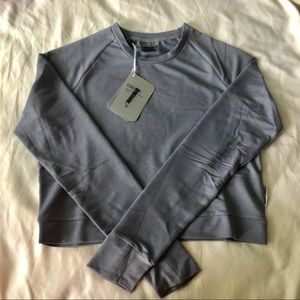 NWT GYMSHARK SOLACE SWEATER 2.0- STEEL BLUE
